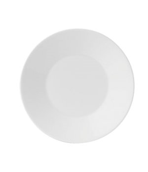 "Jasper Conran B & B Plate, 7"" dia., round, wide rim, dishwasher safe, bone china"