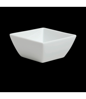 "Bowl, 5-1/4 oz., 3-5/8"", square, porcelain, Duo, Rene Ozorio (USA stock item) (m"