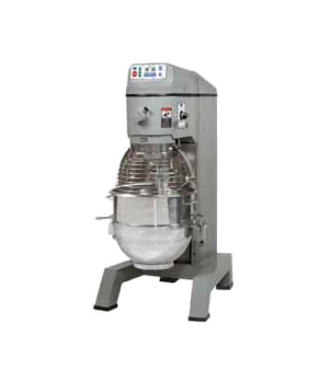 Planetary Pizza Mixer, 60 qt., floor model, 2 fixed-speed, #12 hub, includes: el