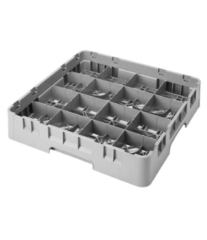 "Camrack® Cup Rack, full size, 19-3/4"" x 19-3/4"" x 4"", 16 compartment, 4-3/8"" x 4"