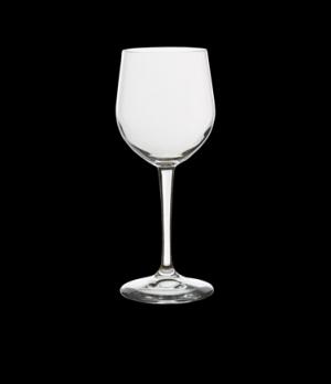 Chardonnay Glass, 11-1/2 oz., laser cut, laser cut, non-lead, crystal, Bormioli,