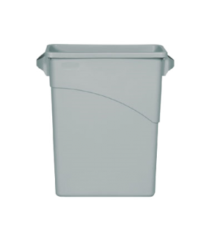 Slim Jim® Waste Container, 15-7/8 gallon (60 liter) n, general purpose waste, op