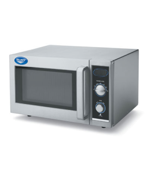 Microwave Oven, Manual Control, stainless steel exterior & interior, with interi