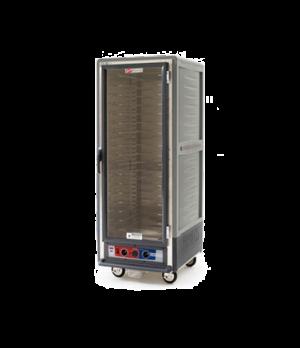 C53, Moisture Module, Gray, Full height, full length clear door, Universal slide