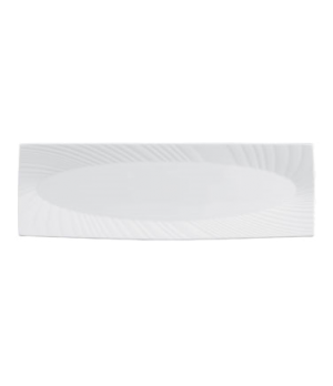 "Ethereal Platter, 15-1/2"", oblong, dishwasher safe, bone china, white (priced pe"