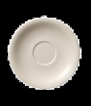 "Saucer, 7-1/2"", premium porcelain, Dune"