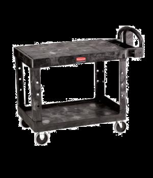 """Flat Shelf Utility Cart, 43-7/8""""L x 25-5/8""""W x 33-5/16""""H, two shelves, 250 lb. c"""