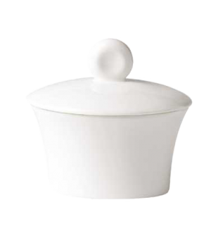 (12135) Fusion Sugar Bowl, 11-1/2 oz. (35.0 cl), bone china, microwave safe, whi