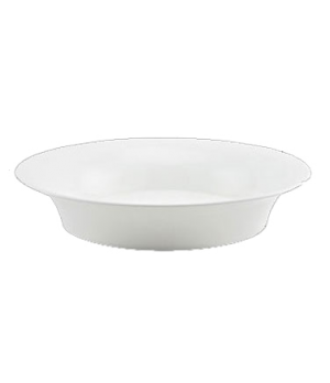 (0167) Fusion Vegetable Dish, 66-1/2 oz. (200.0 cl), oval, bone china, microwave