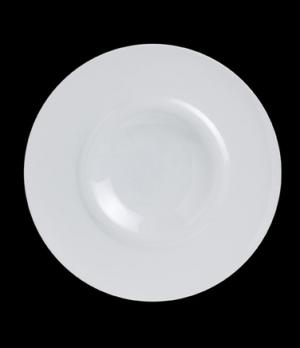 "Plateau Plate, 12"" dia. (2-3/8"" rim), round, porcelain, Crucial Detail (priced p"