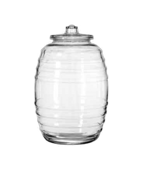 "Barrel Canister, 20 liter, 18-1/2"" H (height does not include lid), (H 18-1/2"";"