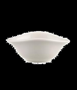 "Individual Bowl, 2-3/4"" x 2"", 1 oz., small, flat, premium porcelain, Dune"