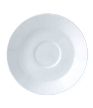 "Saucer, 6"" dia., round, single well, Vogue (Special Order) (minimum = case quant"