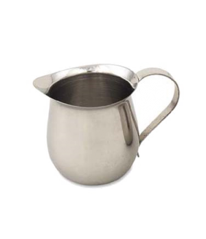 "Bell Creamer, 3 oz., 2""H, stainless steel, mirror finish"