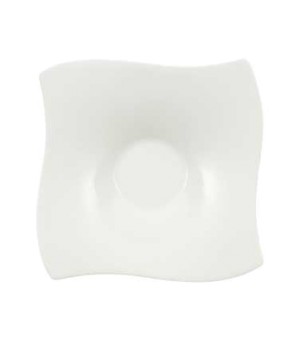 "Saucer, 5-1/2"" x 5-1/2"", (cup OCR -1429), premium bone porcelain, New Wave Premi"
