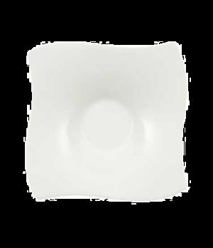 """Saucer, 5-1/2"""" x 5-1/2"""", (cup OCR -1429), premium bone porcelain, New Wave Premi"""