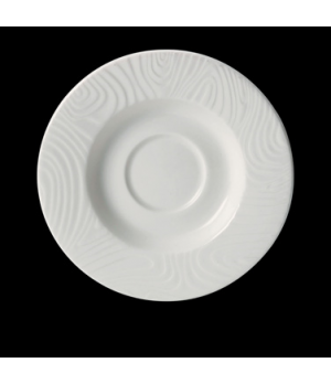 "Saucer, 4-1/2"" dia., round, freezer/microwave/dishwasher safe, lifetime edge chi"
