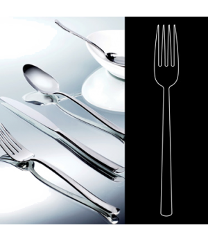 "Table Fork, 8"", stainless steel, La Tavola, Yuki (USA stock item) (minimum = cas"