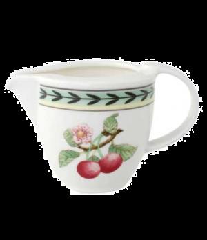 Creamer #6, 3-1/2 oz., premium porcelain, French Garden-Dampierre (Special Order