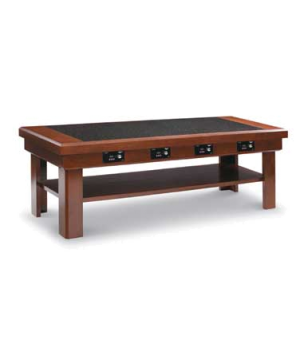 "Buffet Table, 76"" x 30"", available in 34"" or 36"" heights, solid maple wood const"