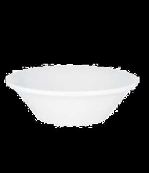 """Individual Bowl #4, 5-7/8"""", 10-1/4 oz., premium porcelain, Corpo White"""