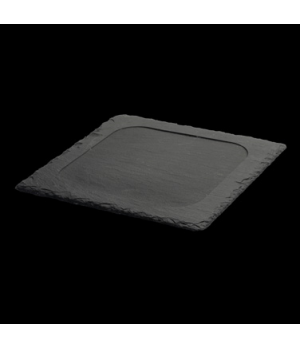 "Starter Plate, 8-1/4"" X 8-1/4"", square, dressed, with feet, oven/microwave/dishw"