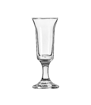 """Cordial Glass, 1 oz., Safedge® Rim and foot guarantee, EMBASSY®, (H 4-1/4""""; T 1-"""