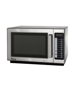 Amana® Commercial Microwave Oven, 1.2 cu. ft. capacity, 1000 watts, medium volum