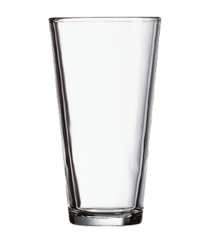 """Mixing Glass, 22 oz., fully tempered, glass (H 6-7/8""""; T 3-5/8""""; B 2-1/2""""; M 3-5"""