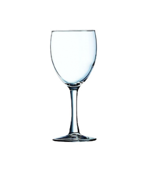 Wine Glass, 8-1/2 oz., tall, fully tempered, glass, Arcoroc, Excalibur (H 6-13/1