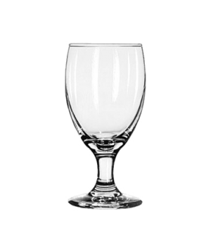 Banquet Goblet Glass, 10-1/2 oz., Safedge® Rim and foot guarantee, EMBASSY ROYAL