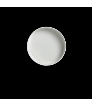 "Tray, 4"" dia., round, stackable, vitrified china, Performance, Simplicity, Rio B"