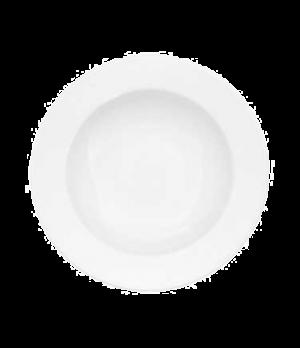 """Rim Soup Plate, 11-3/8"""", 22 oz., deep, premium porcelain, Universal"""