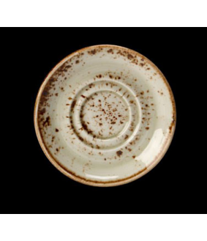 """Saucer, 4-5/8"""", double well, freezer/microwave/dishwasher safe, lifetime edge ch"""
