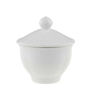 "Sugar Bowl Lid Only, 3-7/8"", premium porcelain, La Scala"