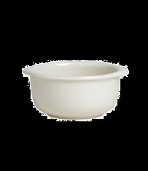 """Onion Soup Crock, 10 oz., 4-1/2 dia., x 2-1/4"""", clear glaze, Anfora, American Ba"""