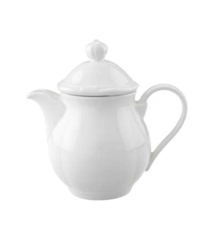 "Coffeepot Lid Only #7, 3-1/8"", premium porcelain, La Scala"