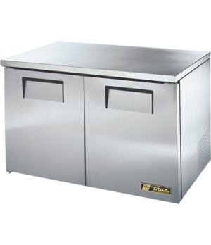 Low Profile Undercounter Freezer, -10° F, (4) shelves, stainless steel top & sid
