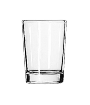 "Side Water Glass, 4 oz., (H 3-1/8""; T 2-3/8""; B 2""; D 2-3/8"")"