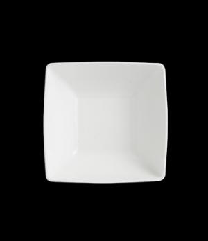 """Bowl, 18 oz., 5-1/4"""" x 2-1/4"""", square, porcelain, Varick, Café Porcelain (minimu"""