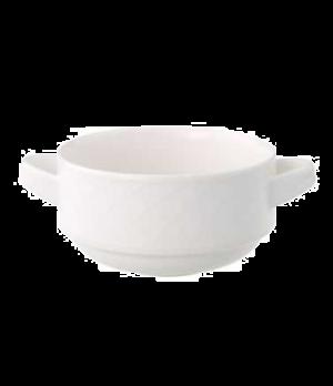 Cup, 9 oz., stackable, premium porcelain, Bella
