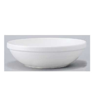 "Salad Bowl #2, 7-7/8"", 25 oz.,  premium porcelain, Easy White (DE Stock)"
