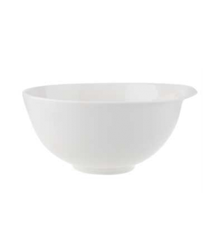 "Salad Bowl, 9-7/8"", 85 oz., premium porcelain, Flow"