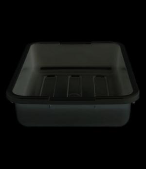 """Cambox®, 15-5/16""""L x 19-15/16""""W x 4-15/16""""H, hi-gloss plastic, black"""