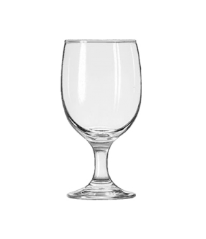 "Goblet Glass, 11-1/2 oz., Safedge® Rim and foot guarantee, EMBASSY®, (H 6-1/8"";"
