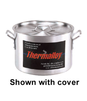 "Thermalloy® Sauce Pot, 34 qt., 16"" x 10"", without cover, oversized riveted hand"
