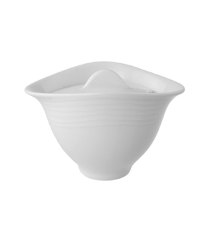 Sugar Bowl with Cover, 5-1/2 oz., premium porcelain, Sedona