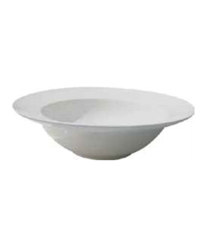 "Pasta/Soup Bowl, 22 oz. (651ml), 9-1/4"" (23 cm), round, deep, rimmed, scratch re"
