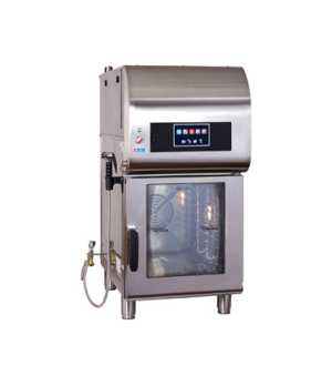 Combitherm® CombiOven, with ventless hood, countertop, electric, capacity (4) 12