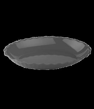 "Deli Platter, oval, 3.4 qt., scalloped pattern, 11-5/16"" x 15-3/16"", impact, sta"